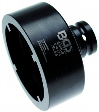 Bgs Technic Groove Nut Socket met interne Tooth, KM8