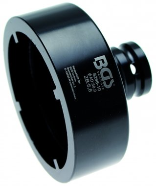 Bgs Technic Groove Nut Socket met interne Tooth, KM9