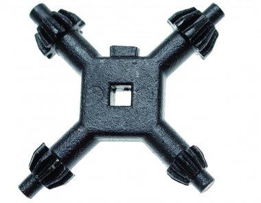 Bgs Technic Universele boorkop kruissleutel 4 - 7 mm