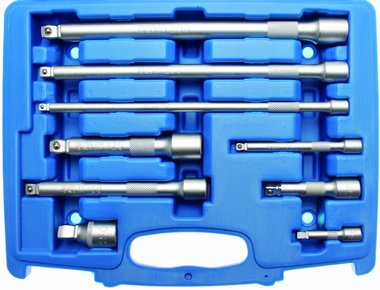 Bgs Technic Wobble Extension Bar Set, 1/4  3/8  1/2