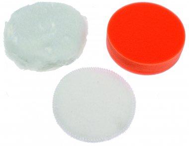 3-delige Polijsten Pad Set, 100 mm voor BGS 9259