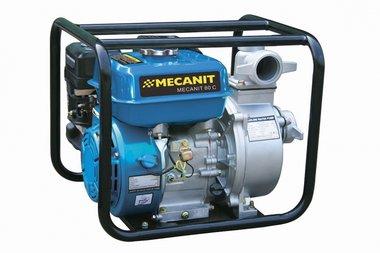 Pomp met benzinemotor voor vuilwater 80mm