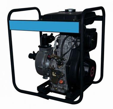 Pomp met diesel motor voor schoon water