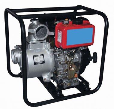 Waterpomp met diesel motor