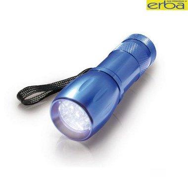 Zaklamp 9 LED's