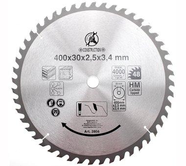 Bgs Technic Hardmetaal Cirkelzaagblad diameter 400 mm 48 tand