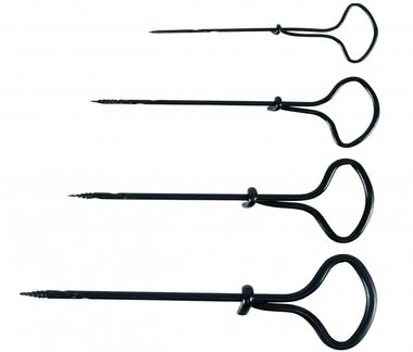 4-delige handboor set, 2-5 mm