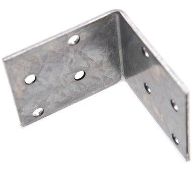 Hoekplaat Joint, 50x50x40x2 mm, gegalvaniseerd