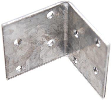 Hoekplaat, joint 40x40x40x2 mm, gegalvaniseerd