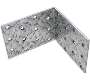 Hoekplaat Joint, 80x80x60x2.5 mm, gegalvaniseerd