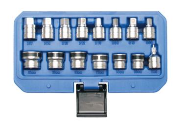 Bgs Technic 15-delige magnetische Sockets voor Oil Drain Schroeven