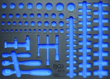 Bgs Technic 3/3 Gereedschap module, leeg: voor ratel en dopsleutels