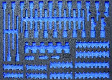 Bgs Technic 3/3 Gereedschap module, leeg: voor bits / bit dopsleutels, leeg