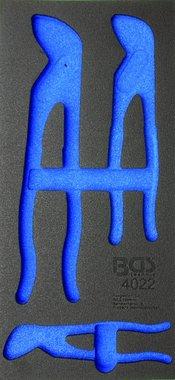Bgs Technic 1/3 Tool Tray voor gereedschapswagen, leeg: voor 3-delige Waterpomptangen Set