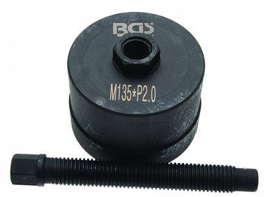 Bgs Technic Wheel Hub Puller, BPW 12t, M135 x 2,0