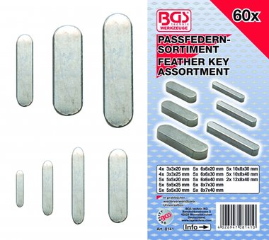 60-delige Feather Key Assortiment
