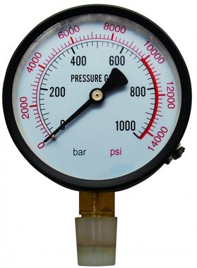 Manometer voor Workshop Press BGS 9246