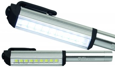 Bgs Technic Aluminium-LED-Stift met 9 LEDs