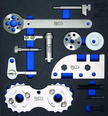 Bgs Technic Tijdafstelgereedschap, set voor Volvo B4204