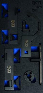 Bgs Technic Tijdafstelgereedschap, set voor Jaguar / Landrover 5,0L V8
