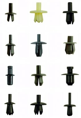 Bgs Technic Assortiment, bekledings clips VW, Audi, Volvo, Chrysler, Ford & Mercedes, 350-delig