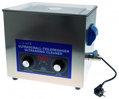 Bgs Technic Ultrasone Parts Cleaner, 13 liter