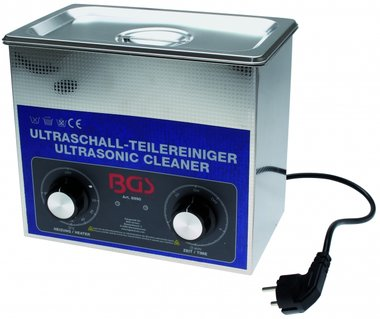 Bgs Technic Ultrasone Parts Cleaner, 3 liter