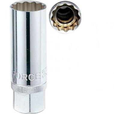 Bougiedoppen 12 kant met magneet 14mm
