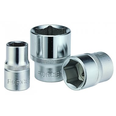 Doppen 3/8 (6-kant) 19/32 inch SAE