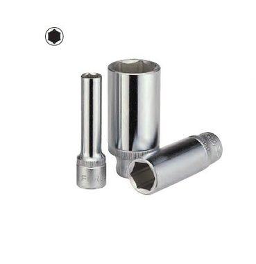 Doppen lang 3/8 (6-kant) 7/16 inch SAE