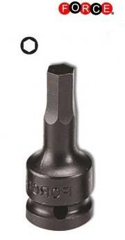 Kracht bit doppen Inbus 3/8 (uit een stuk) 12mm
