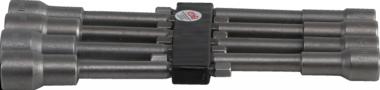 Bgs Technic Dop Set, extra lang, met 6-pt. Boor Shaft, 6-13 mm
