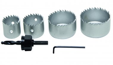 6-delige Hole Saw Set