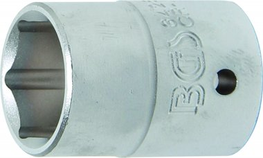 3/4 Pro Torque dop, 26 mm