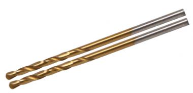 Twist Drill, HSS-G, Titanium Coated, 2,0 mm (2 stuks)