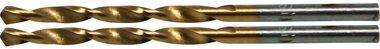 Twist Drill, HSS-G, Titanium Coated, 3,0 mm (2 stuks)