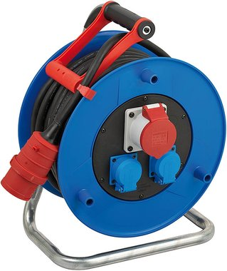 Garant CEE 1 IP44 kabelhaspel voor industrie/bouw 30m