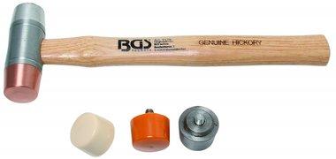 Bgs Technic Hamer met verwisselbare koppen, diameter 35 mm
