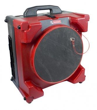 Draagbare luchtreiniger met hepa filter.
