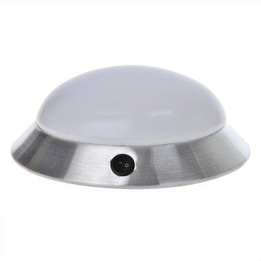 Plafonniere / opbouwarmatuur 24-leds 12V 590lm diameter 280x85mm
