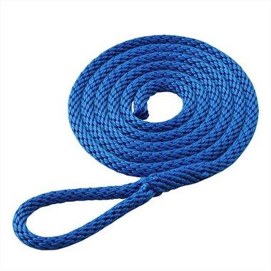 Fenderlijn 1,5m, birotex, blauw