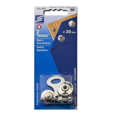 Tenax veiligheidssluiting, 20mm, 2 stuks in blister