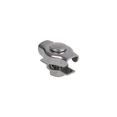 Simplex staaldraadklem 2mm, A4 RVS AISI 316
