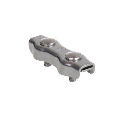 Duplex staaldraadklem 3mm, A4 RVS AISI 316