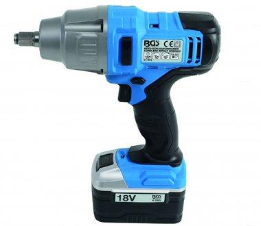 Accu slagmoersleutel 520 Nm max. 2000 U/min 18 V