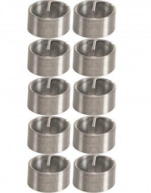 10-delige draadreparatieinzetstukken M12 x 1.0