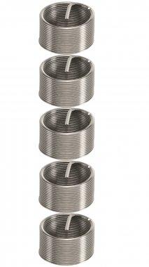 5-delige gordel reparatie inzetstukken M18 x 1.5