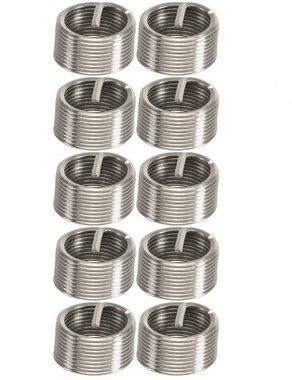 10-delige draadreparatie-inzetstukken M12 x 1.5