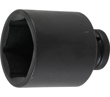 Krachtdop, 6-kant, diep25 mm 1 inch Duim 77 mm