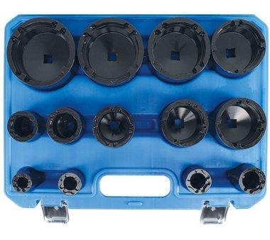 Bgs Technic Gegraveerde moersleutel set | Interne pinnen | KM0 - KM12 | 13 delig.